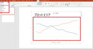 [図で解説]パワーポイントで簡単に「グラフ」を挿入する方法⑭