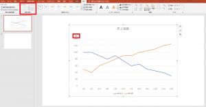 [図で解説]パワーポイントで簡単に「グラフ」を挿入する方法⑮
