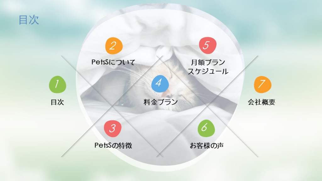 制作物例をご紹介〜アイコンや画像で資料の印象が変わる!〜⑦